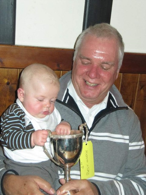 Kirkby 2011 Ewan with Cup