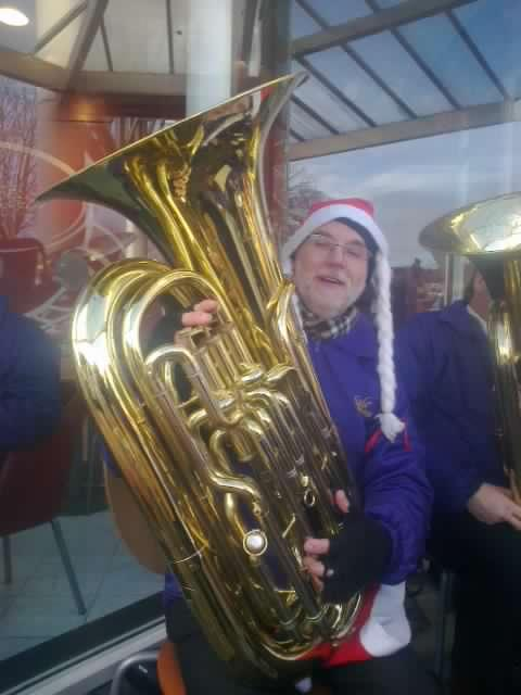 Happy Christmas Tuba
