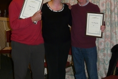 2012 Awards Long service Mike and Chas