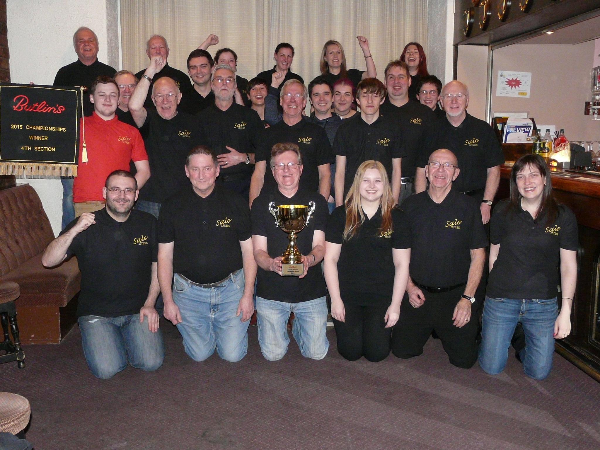 2015 Butlins Winners