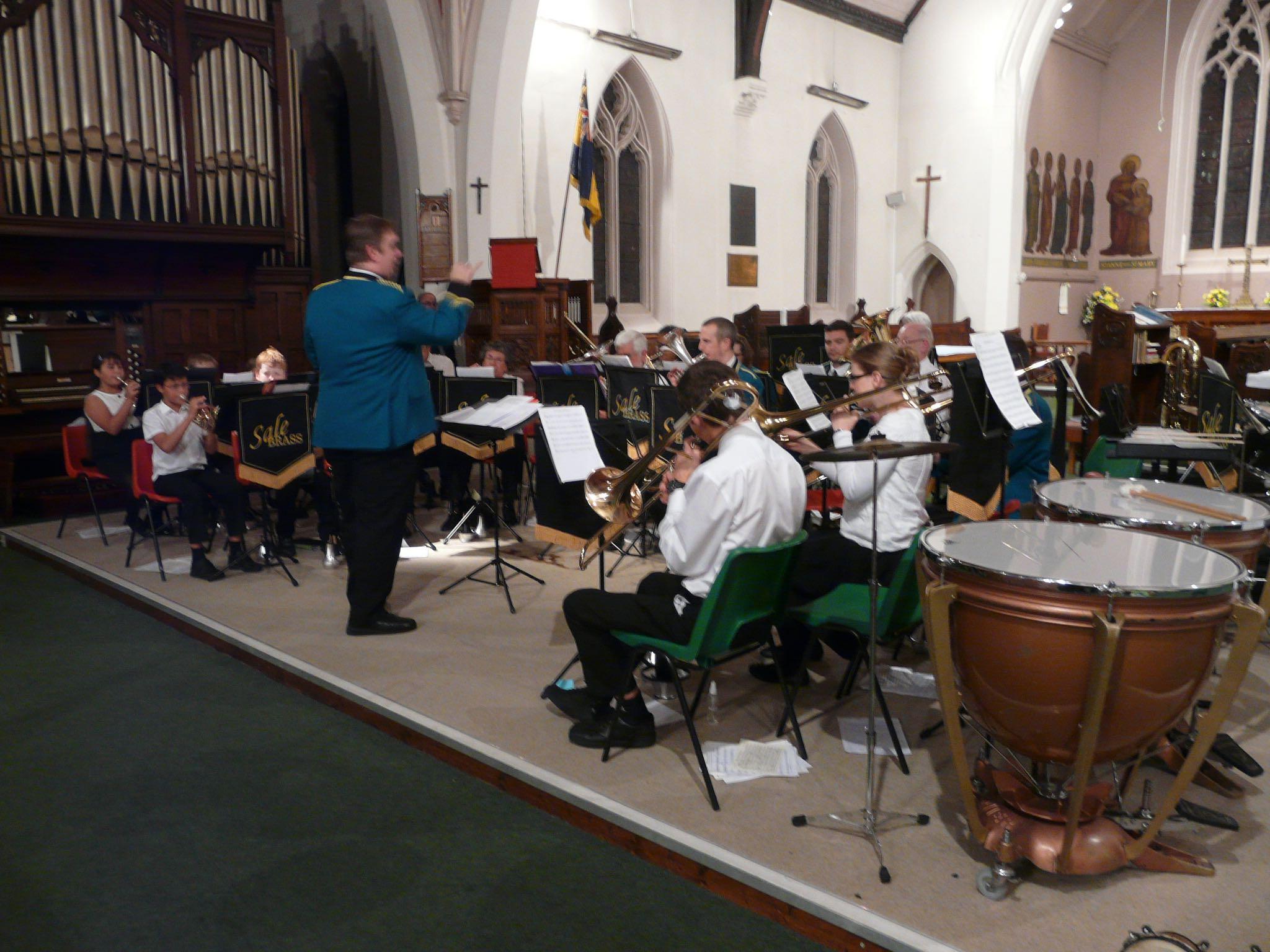 2015 Christmas Concert Training Band